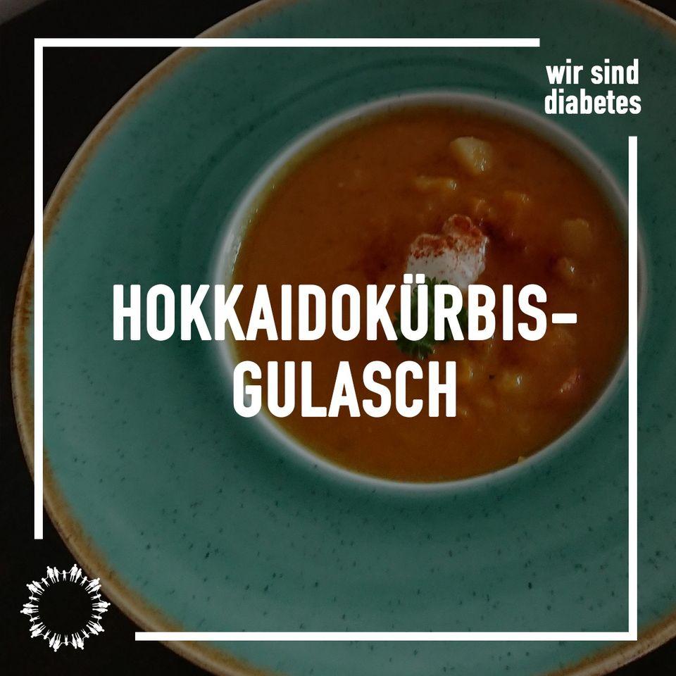 Hokkaidokürbis-Gulasch